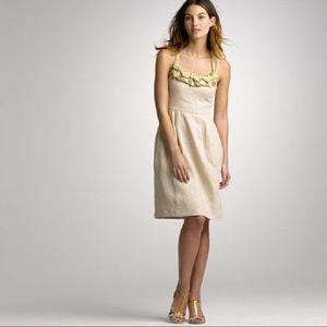 J.Crew Collection | Goldwyn Linen Dress~10